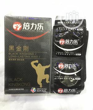 Black Kingkong 10in1 Latex Condom   Sexual Wellness for sale in Lagos State, Amuwo-Odofin