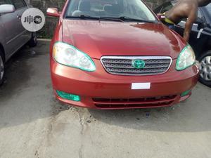 Toyota Corolla 2003 Sedan Red | Cars for sale in Lagos State, Amuwo-Odofin