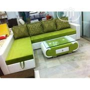 L-Shaped Sofas With Throw Pillows | Home Accessories for sale in Lagos State, Ikeja