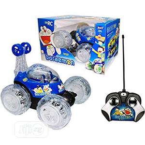 Children Play Toy Doraemon 360 Stunt Rolling Remote Car for Kids | Toys for sale in Lagos State, Amuwo-Odofin