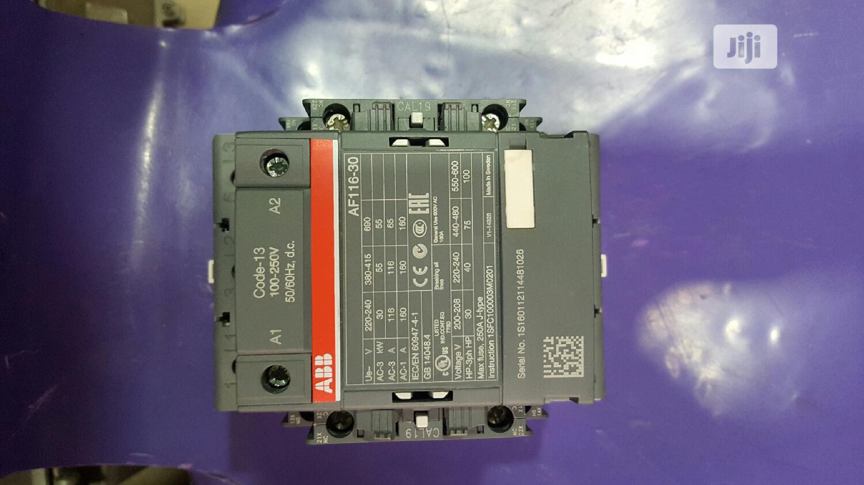 Af116 Abb Contactor 100...250vac/Dc
