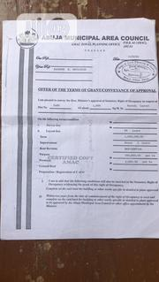 Offer Of The Term Of Grant | Land & Plots For Sale for sale in Abuja (FCT) State, Kurudu