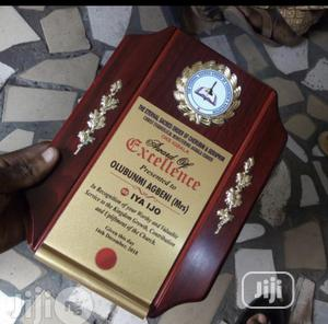 Wooden Plaque For Award   Arts & Crafts for sale in Lagos State, Oshodi