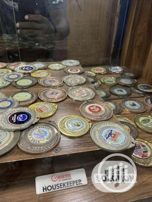 Gold Medals With Print   Arts & Crafts for sale in Lagos State, Ipaja