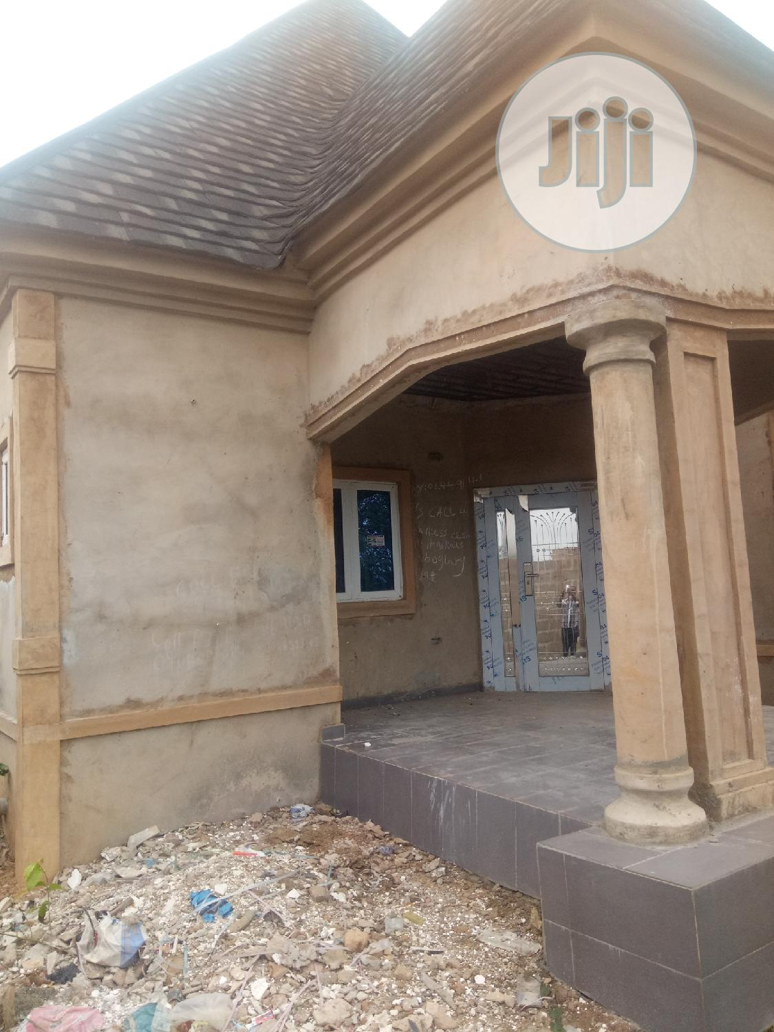 Well Built 4bedroom Bungalow Ensuite on 50x100 in Obagie for Sale | Houses & Apartments For Sale for sale in Benin City, Edo State, Nigeria