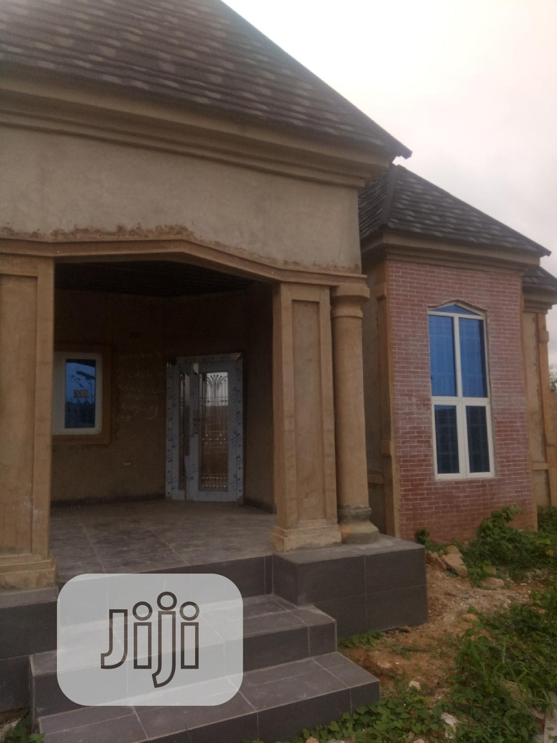 Well Built 4bedroom Bungalow Ensuite on 50x100 in Obagie for Sale