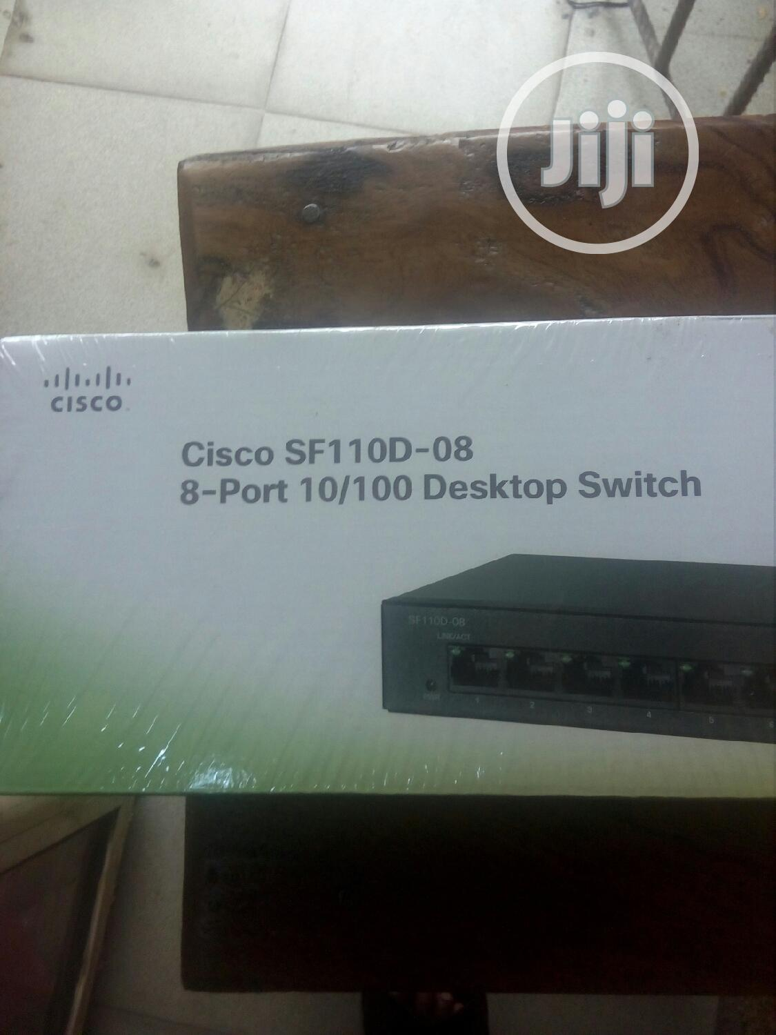 Cisco Sf 110d-08. 8port 10/100 Desktop Switch