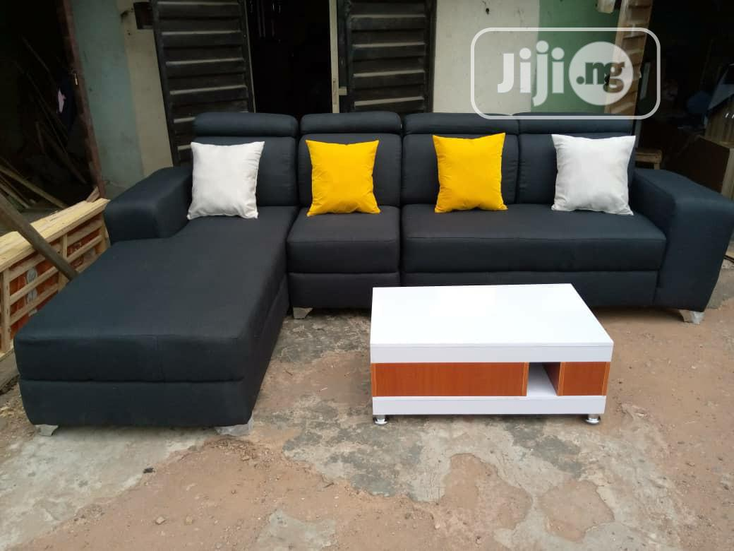 Archive: L- Shaped Sofa With Centre Table
