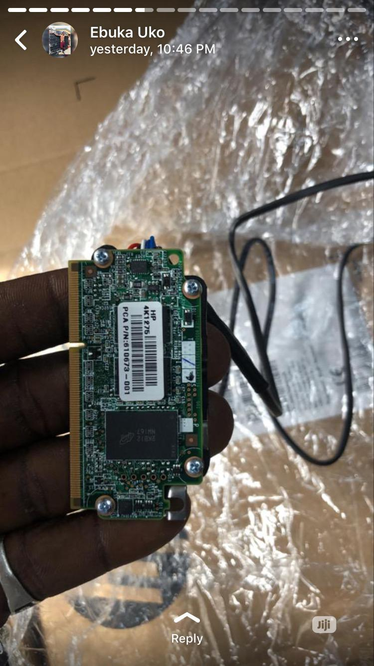 HP P410i P411i 1GB Raid Cache Module + Battery For G6 G7 | Computer Hardware for sale in Ikeja, Lagos State, Nigeria