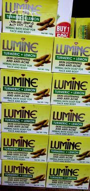 Original Lumine Tumeric Skin Lightening Soap   Bath & Body for sale in Lagos State, Amuwo-Odofin