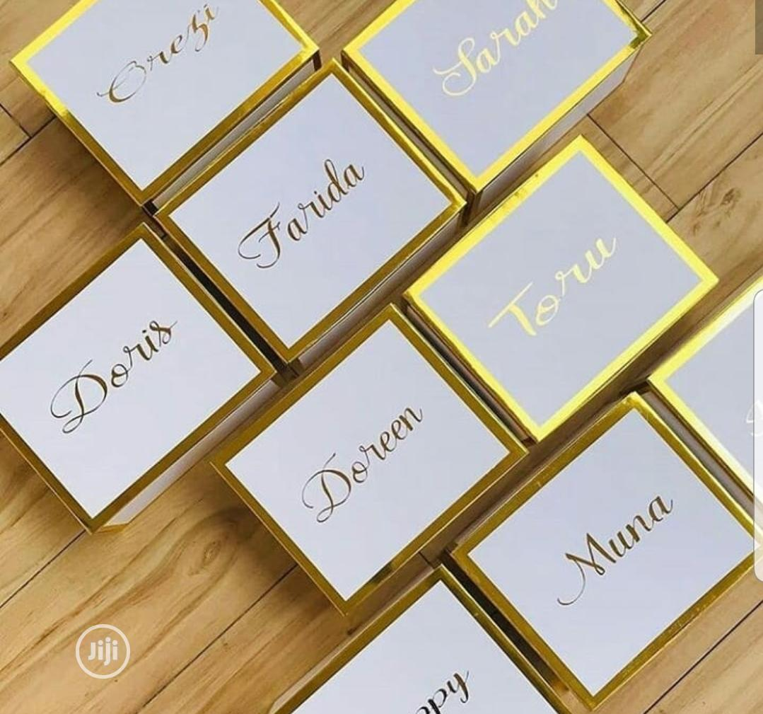 Branded Gift Boxes/Customised Boxes | Arts & Crafts for sale in Surulere, Lagos State, Nigeria