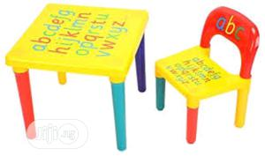 Kids Table And Chair Set, Alphabetical Letter   Children's Furniture for sale in Lagos State, Amuwo-Odofin