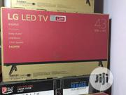"""43"""" LG Television With Free Wall Tv Hanger and Power Surge 