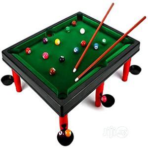 Mini World Champion Toy Billiard Pool Table Game | Books & Games for sale in Lagos State, Amuwo-Odofin