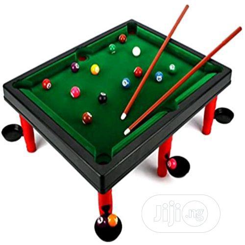 Mini World Champion Toy Billiard Pool Table Game
