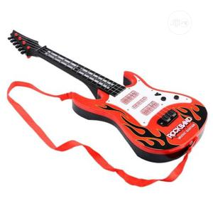 Toy Kart Red & Yellow Guitar Toy | Toys for sale in Lagos State, Amuwo-Odofin
