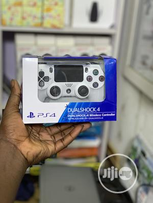 Ps4 Controller Pad For Ps4 & Ps4 Pro Console White   Accessories & Supplies for Electronics for sale in Lagos State, Ikeja