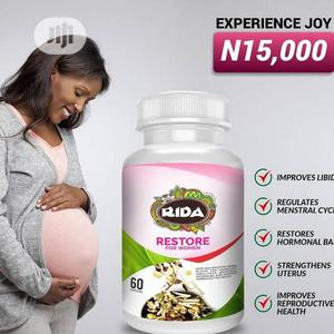 Rida Restore Capsules for Treatment of Infertility Hormonal Imbalanc | Sexual Wellness for sale in Rivers State, Port-Harcourt