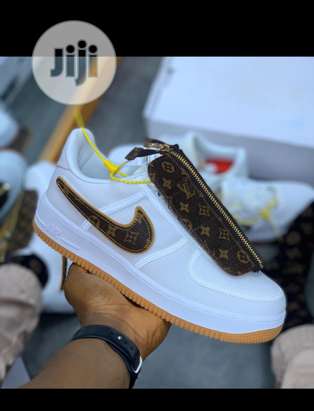 Nike Air Force 1 Louis Vuitton White
