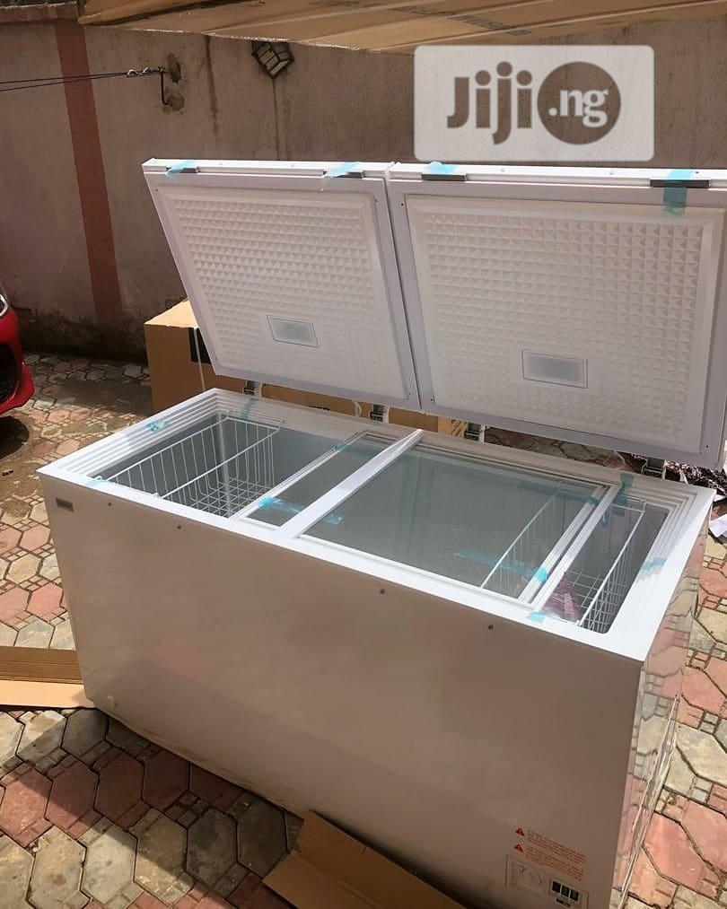Synix Chest Freezers 420 Litres