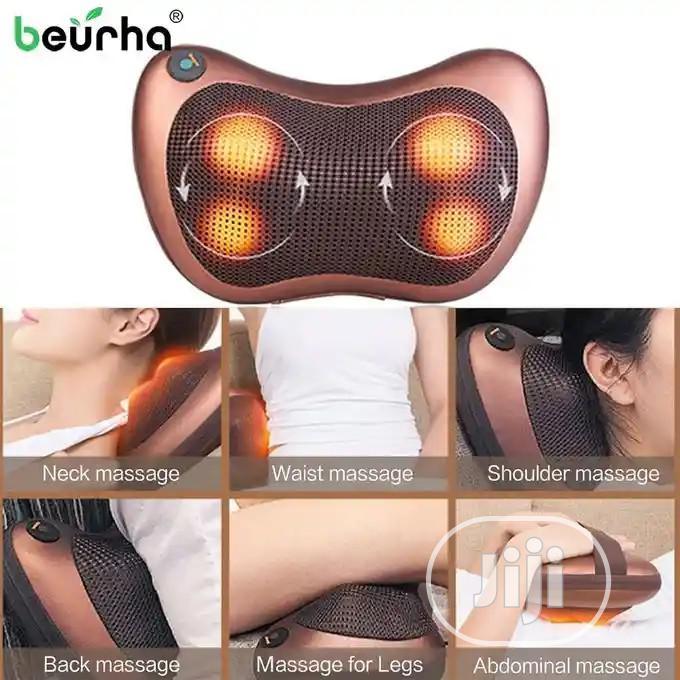 Archive: Vibrating Electric Back Neck Shoulder Massage Pillow With 4 Button
