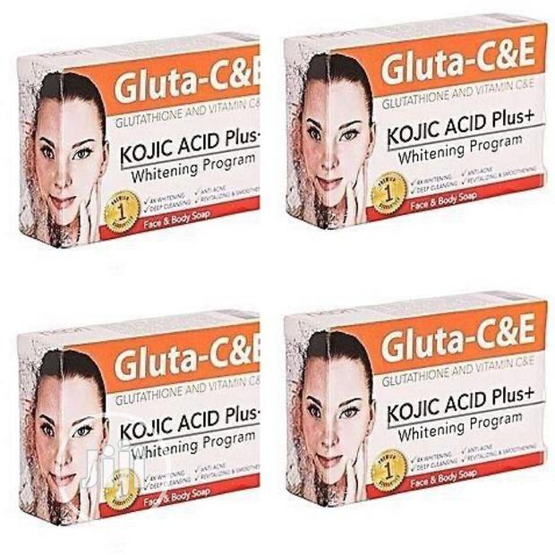 Gluta C &E ACID PLUS + Face And Body Soap ( 1 Pack)