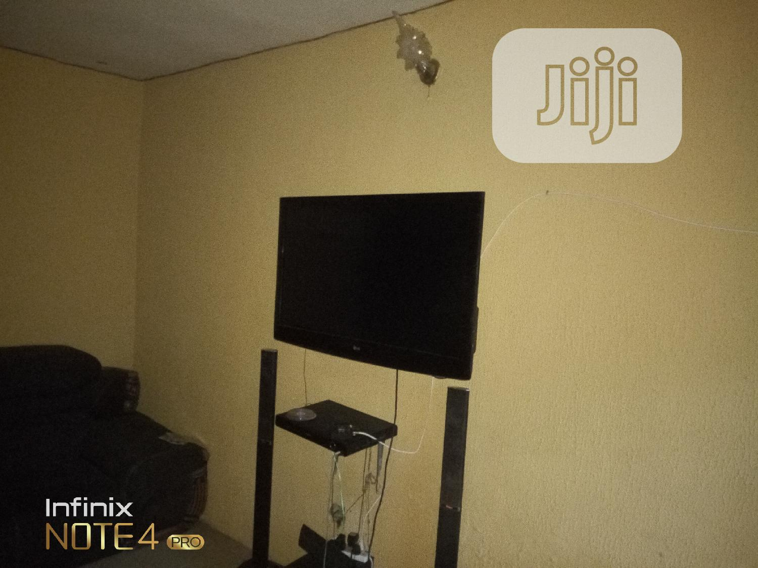 "Well Used 52"" LG LED TV Working Perfectly for Sale 