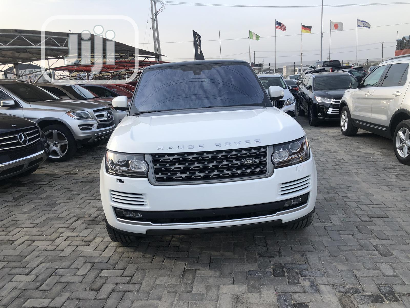 Land Rover Range Rover Vogue 2017 White