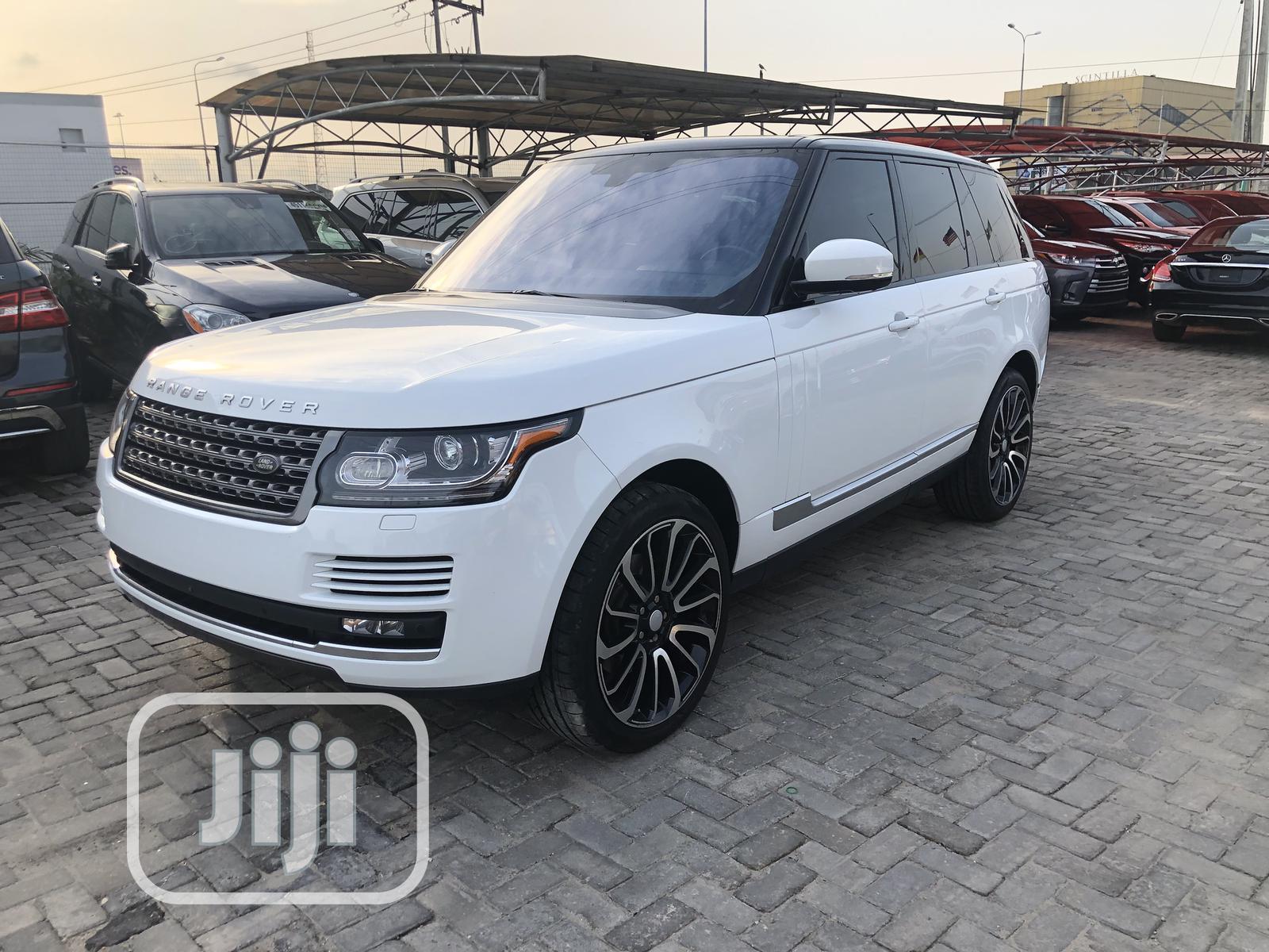 Land Rover Range Rover Vogue 2017 White   Cars for sale in Lekki, Lagos State, Nigeria