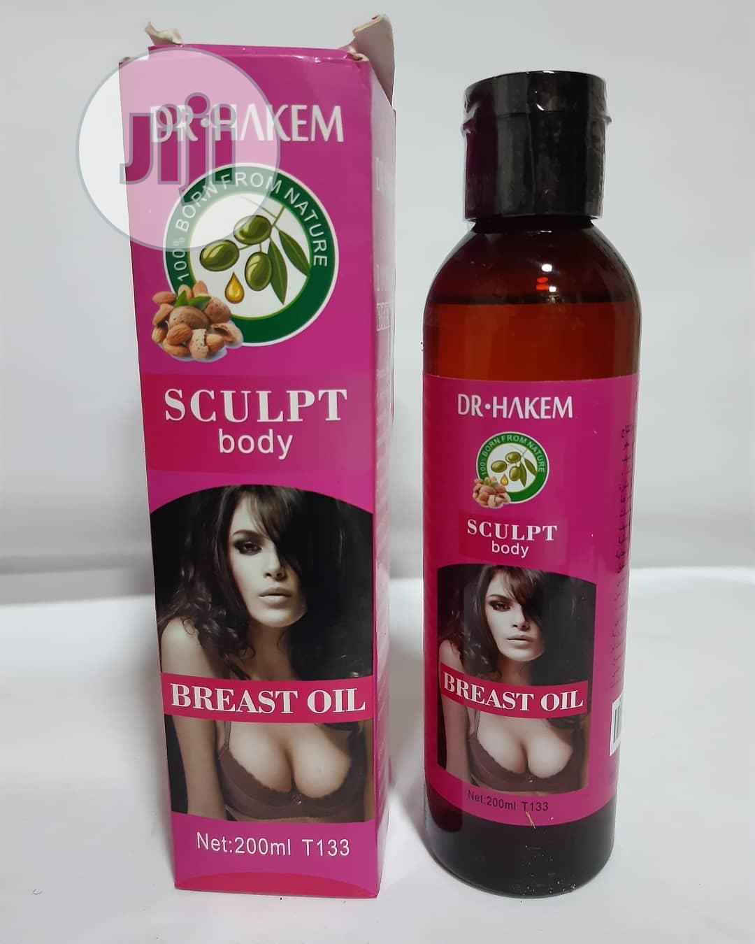 Sculpt Body Breast Firming Oil