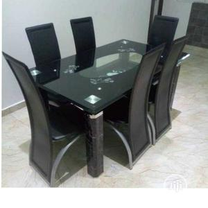 Quality Glass Top Dining Table   Furniture for sale in Lagos State, Lekki
