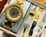 Michael Kors Wrist Watch and Bracelet   Jewelry for sale in Lagos State, Surulere