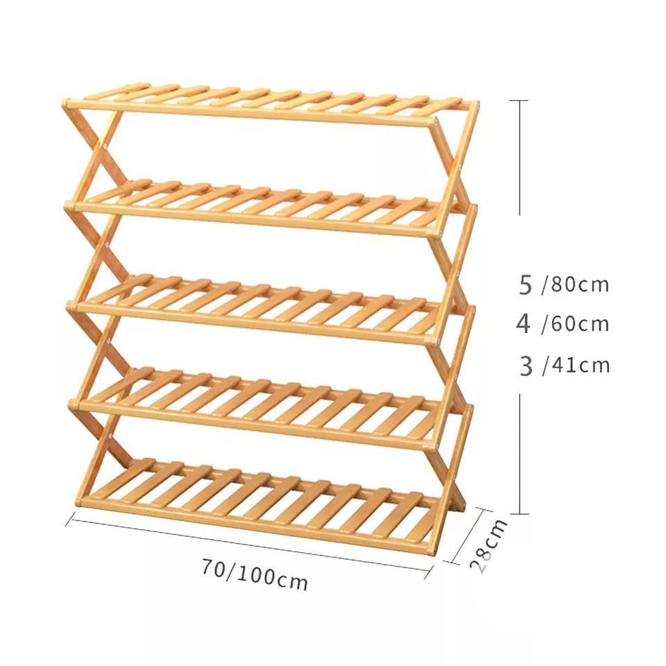 Quality Finishings Foldable Multipurpose Wooden Shoe Rack   Furniture for sale in Lagos Island (Eko), Lagos State, Nigeria