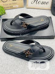 Zanotti Leather Slippers | Shoes for sale in Lagos State, Surulere