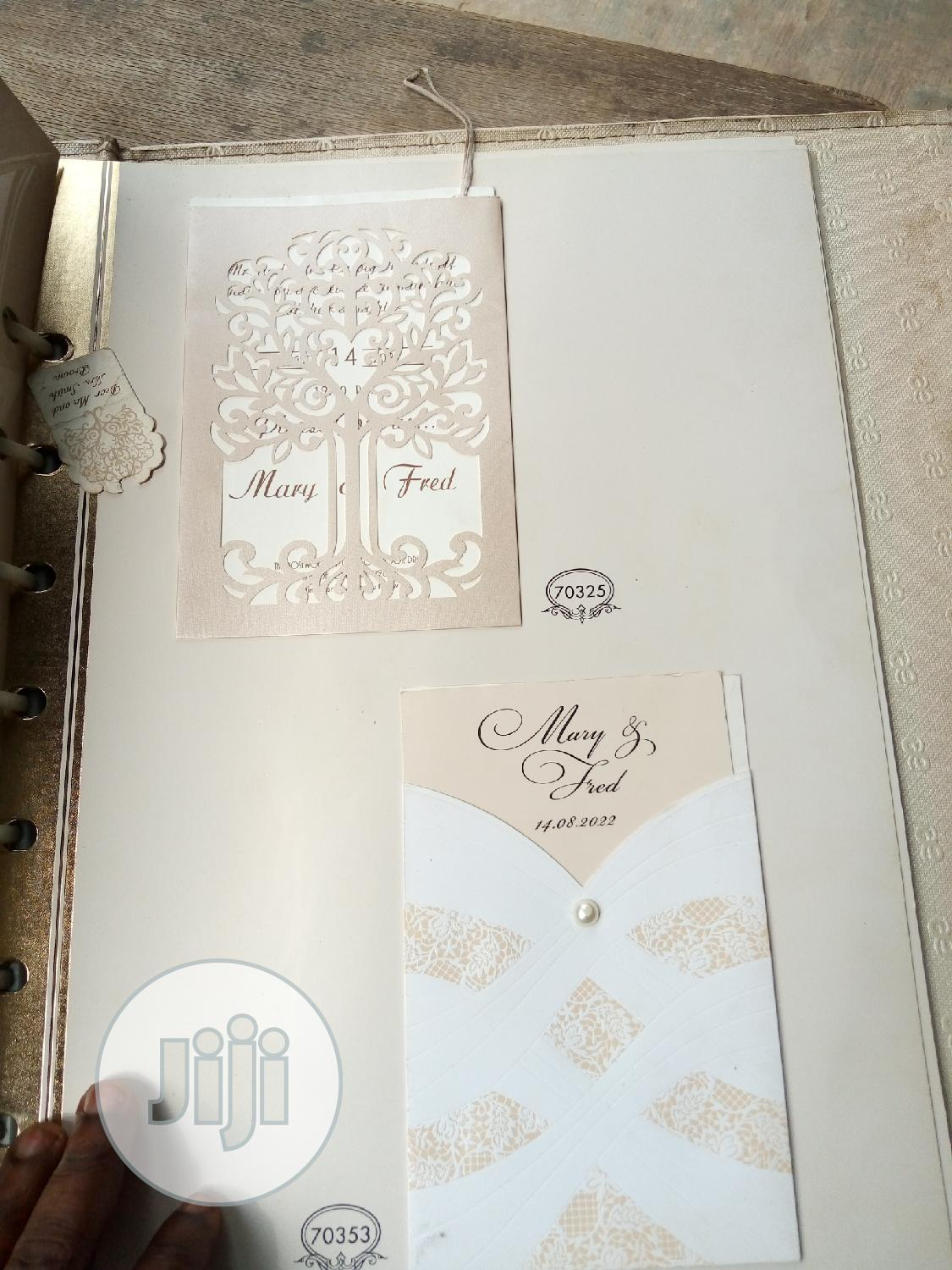 Wedding Invitation Cards | Arts & Crafts for sale in Gbagada, Lagos State, Nigeria