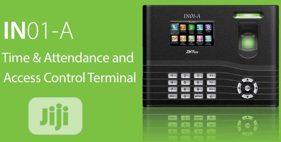 The Zkteco In01-a Fingerprint Time Attendance & Access Control Termina