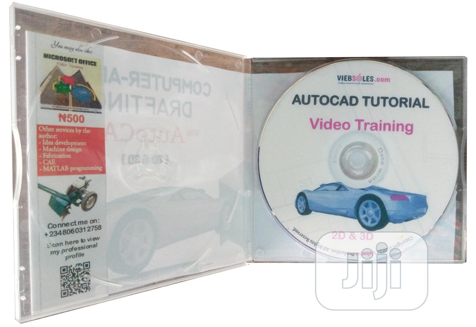 Autocad Video Training Product
