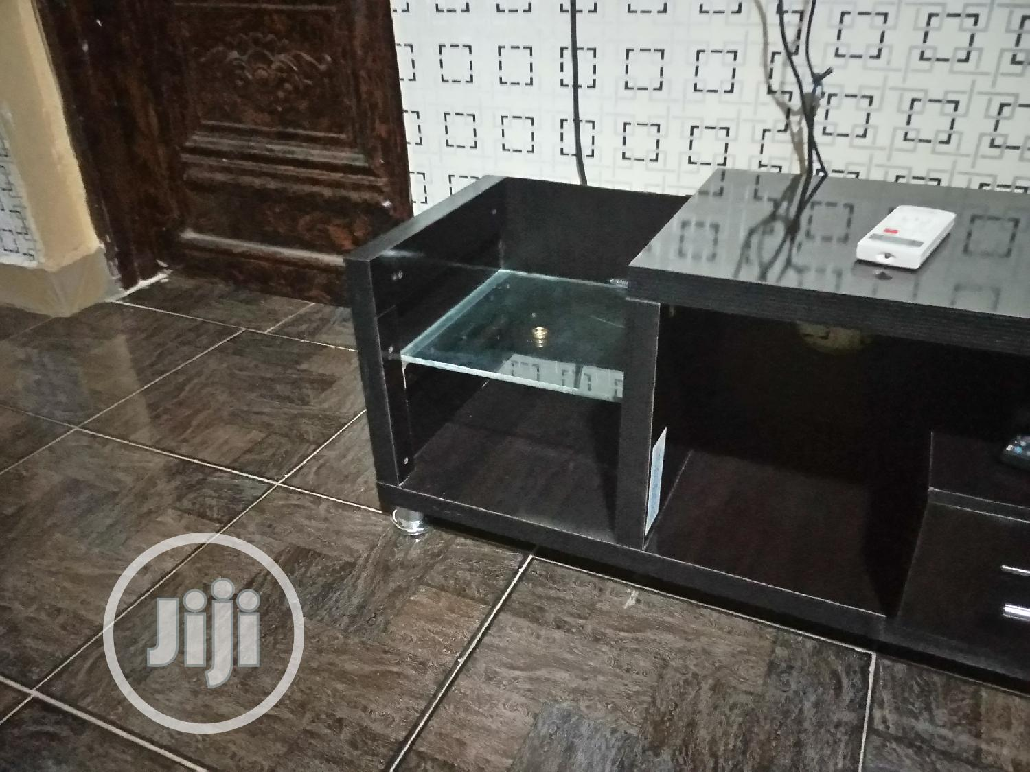 A New Television Shelf With 2 Drawers.Made Wt Good Material | Furniture for sale in Ifako-Ijaiye, Lagos State, Nigeria