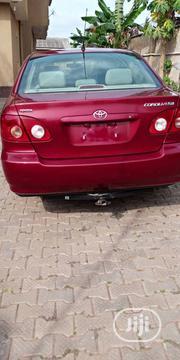 Toyota Corolla 2005 Red | Cars for sale in Ogun State, Ado-Odo/Ota