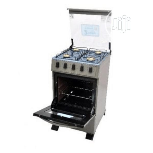 Scanfrost 4 Burner Gas Cooker CK5400NG