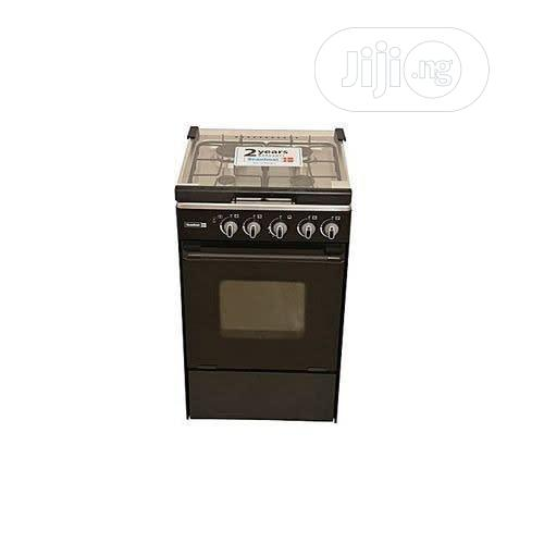 Archive: Scanfrost 4-burner Gas Cooker CK-5400 NG - Black
