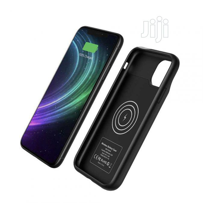 Porodo iPhone 11 Pro Max Wireless Battery Case 4500mah   Accessories for Mobile Phones & Tablets for sale in Ikeja, Lagos State, Nigeria