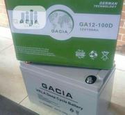 100ah Gacia Battery 12V   Solar Energy for sale in Lagos State, Ojo