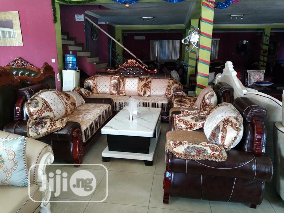 Imported Royal Fabric Sofa