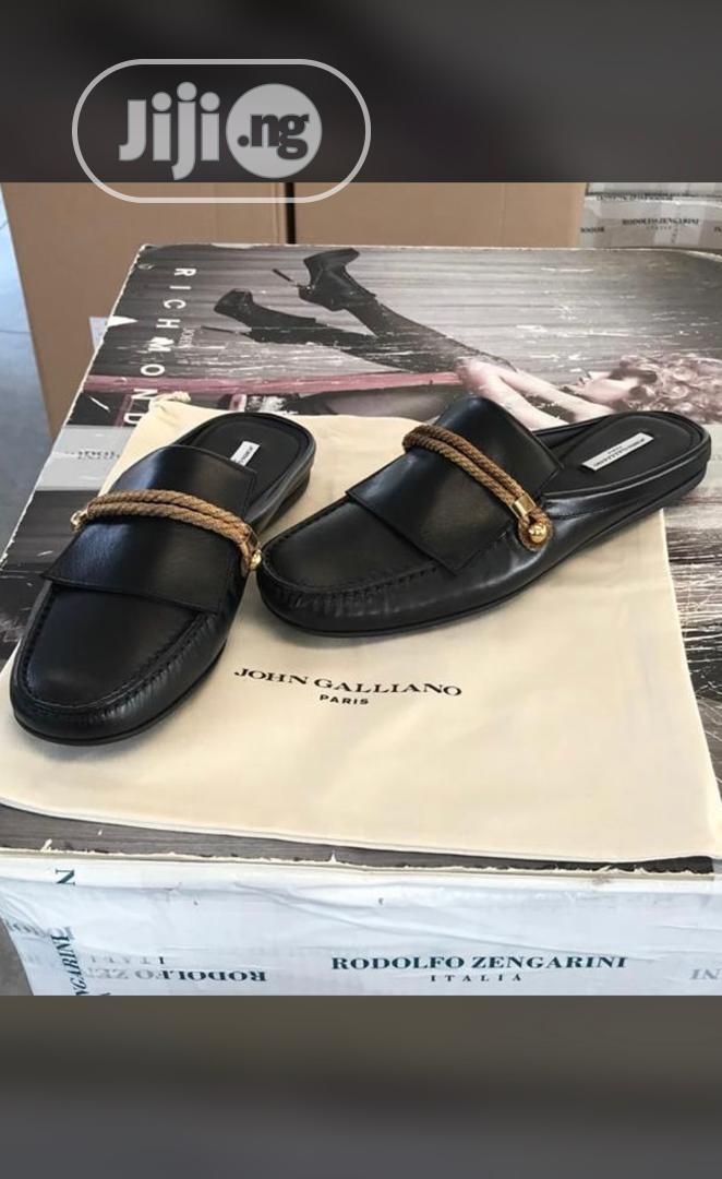 John Galliano Half Shoe in Magodo