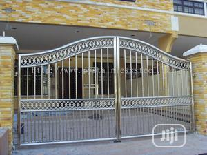 Stainless Steel Gate With Swing Automation | Doors for sale in Lagos State, Ikeja