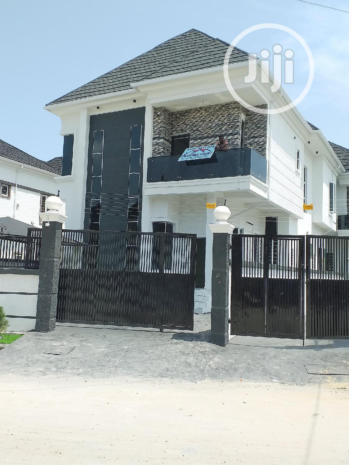 Brand New Lavishly 4 Bedrooms Fully Detached Duplex With Bq For Sale