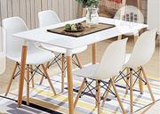 This Is Brand New Quality Four Seaters Dining Table It Is Very Strong | Furniture for sale in Lagos State, Ajah