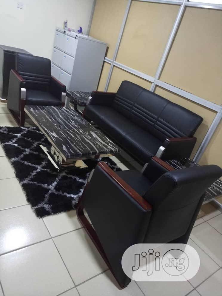 Archive: Imported Leather Sofa