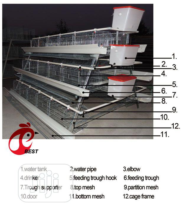 Layers Battery Cage